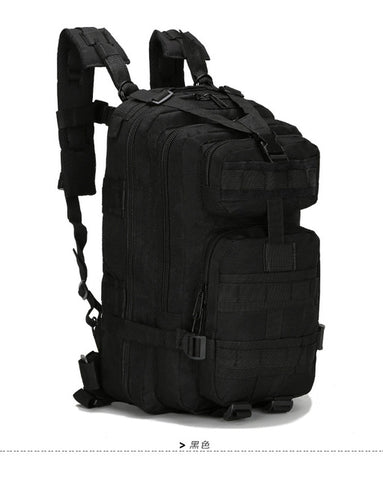 Military Nylon 30L Waterproof Tactical Backpack