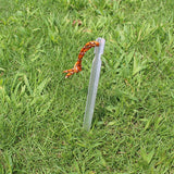 10pcs Aluminium Tent Stake with Rope (FREE SHIPPING U.S.)