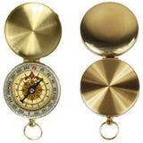 Portable Brass Pocket Golden Compass (FREE SHIPPING)
