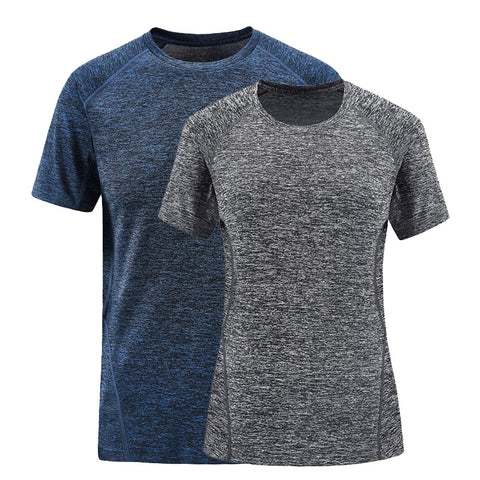 Cationic Quick-Dry Short Sleeve T-shirt For Men & Women