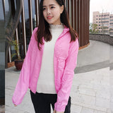 Men & Women's Waterproof UV Protection Windbreaker Jacket (FREE SHIPPING)