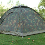 Portable 1-4 People Ultraviolet Proof Camouflage Tent (FREE SHIPPING)