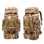 60L Large Capacity Military Tactical Backpack