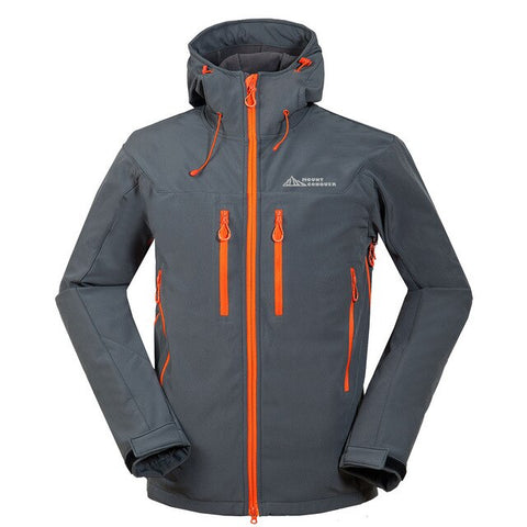 Men Fleece Outdoor Hiking Jacket
