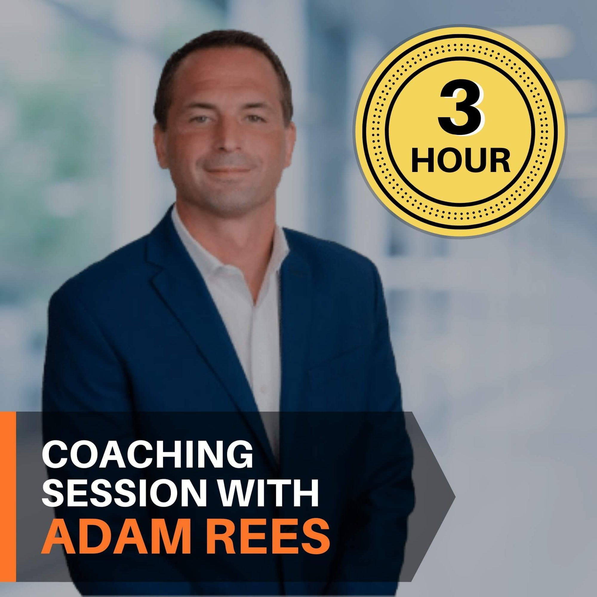 3 hour coaching session with Adam Rees