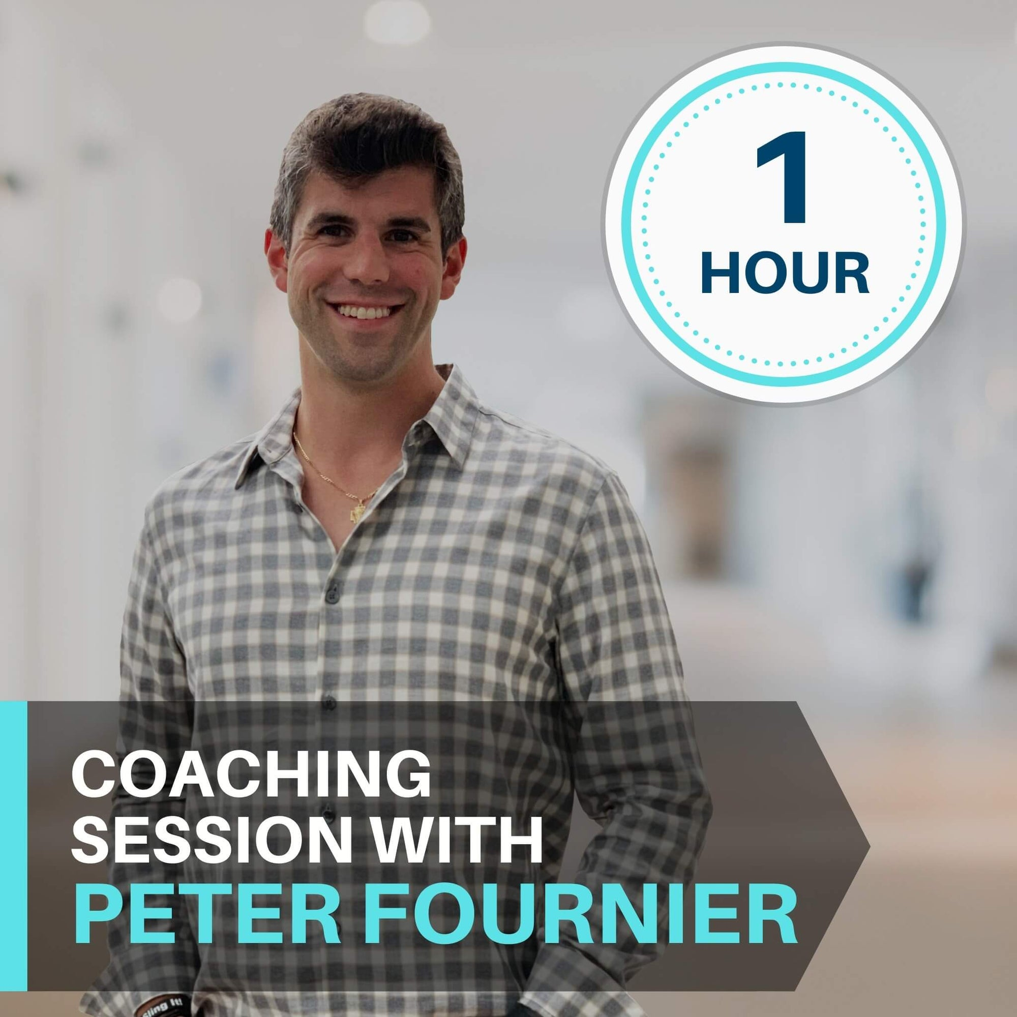 1 Hour Coaching Session With Peter Fournier