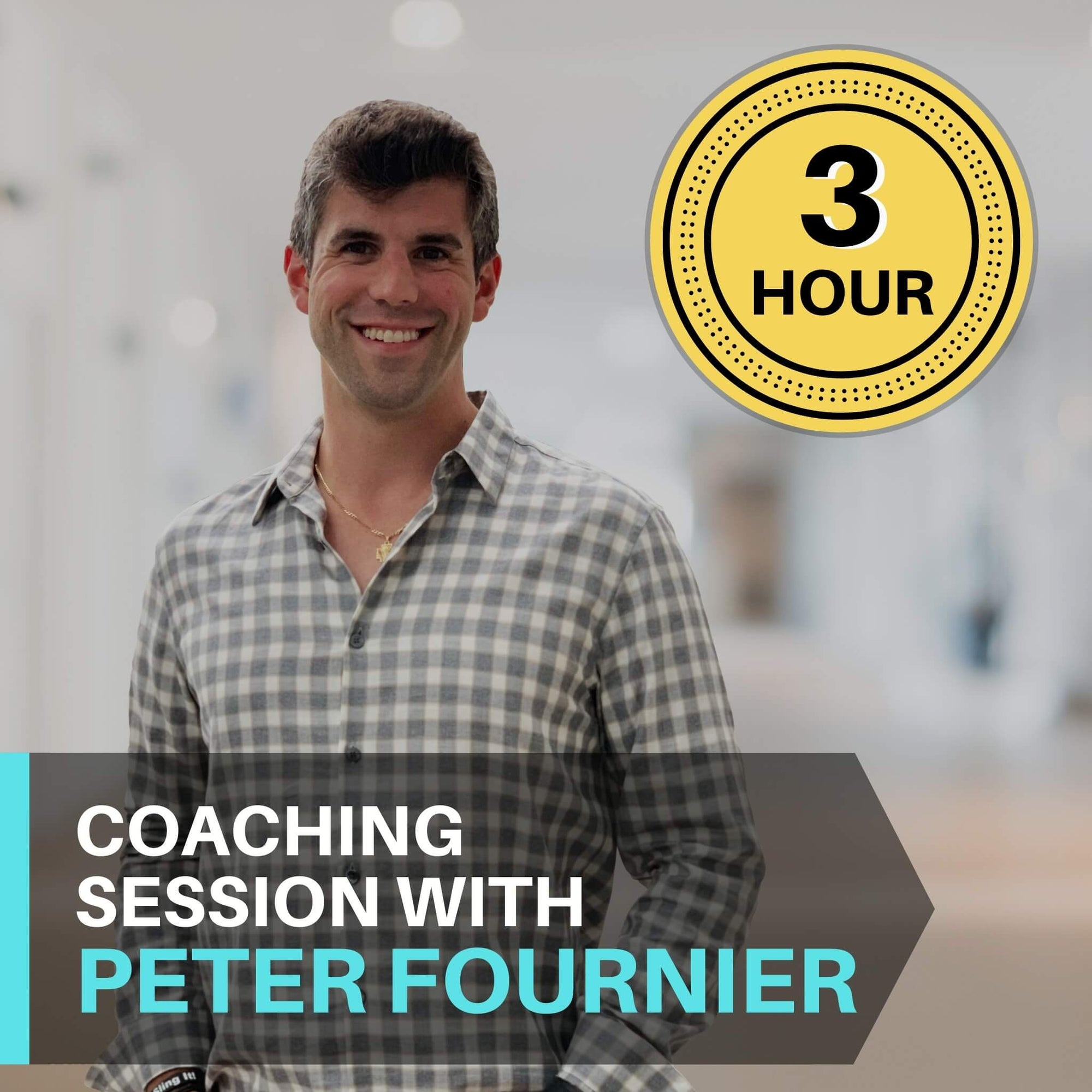 3 Hour Coaching Session With Peter Fournier