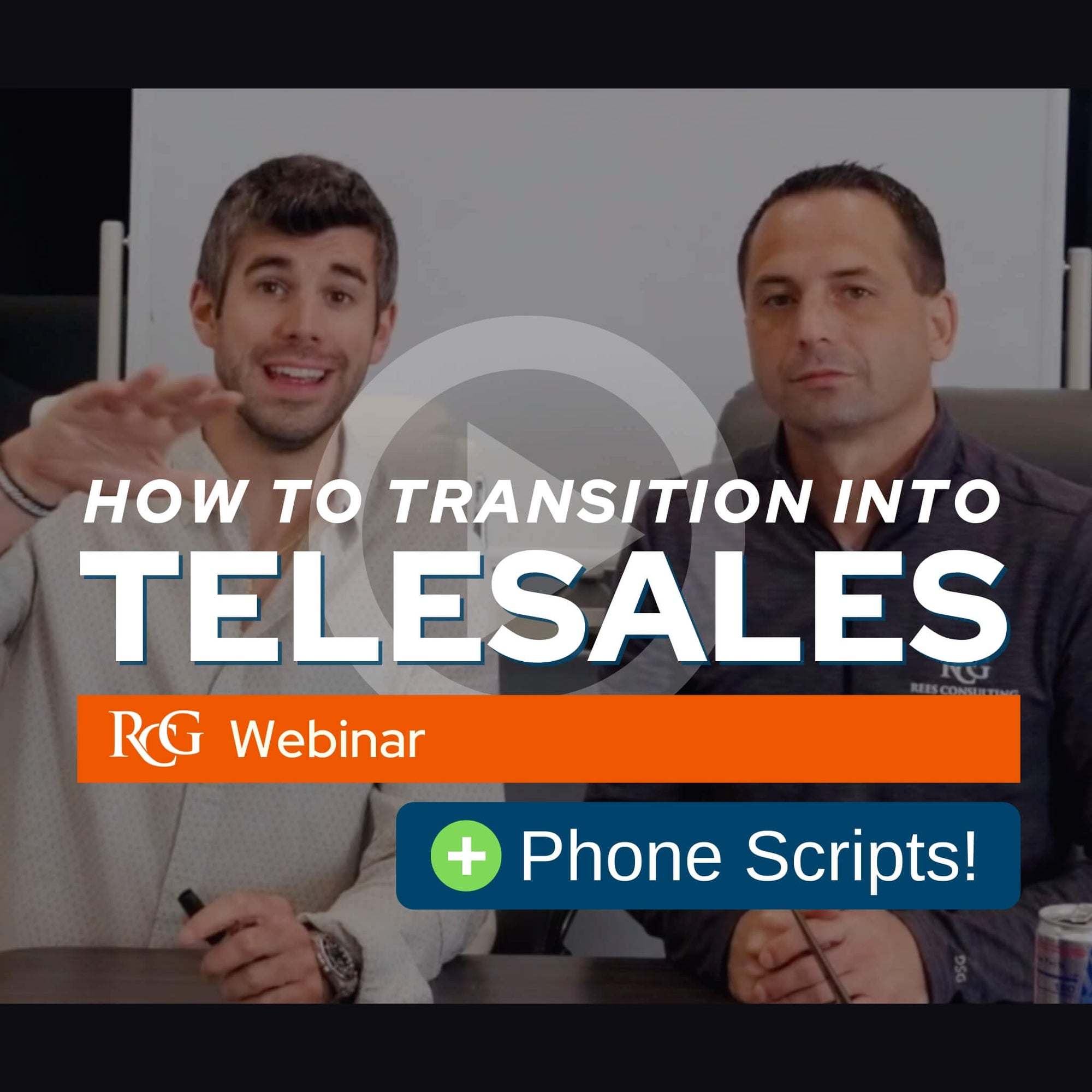 [WEBINAR] How To Transition Into Telesales + Phone Script