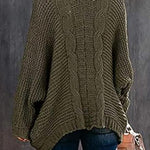 Pure Color Knitting Sweater Cardigan