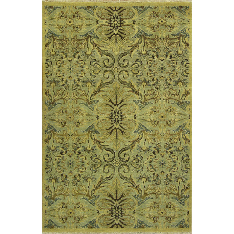 ROJA MODERN WOOL CONTEMPORARY RUGS 3'9X5'9'