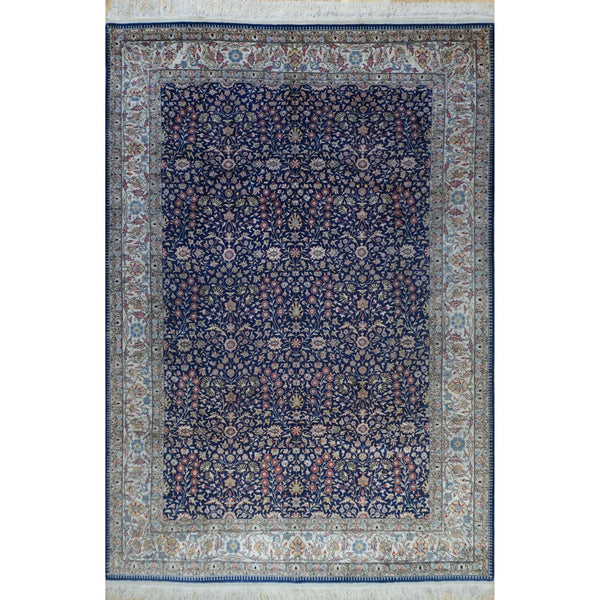 ROJA TURKISH ANATOLIAN ROYAL AREA SILK RUG