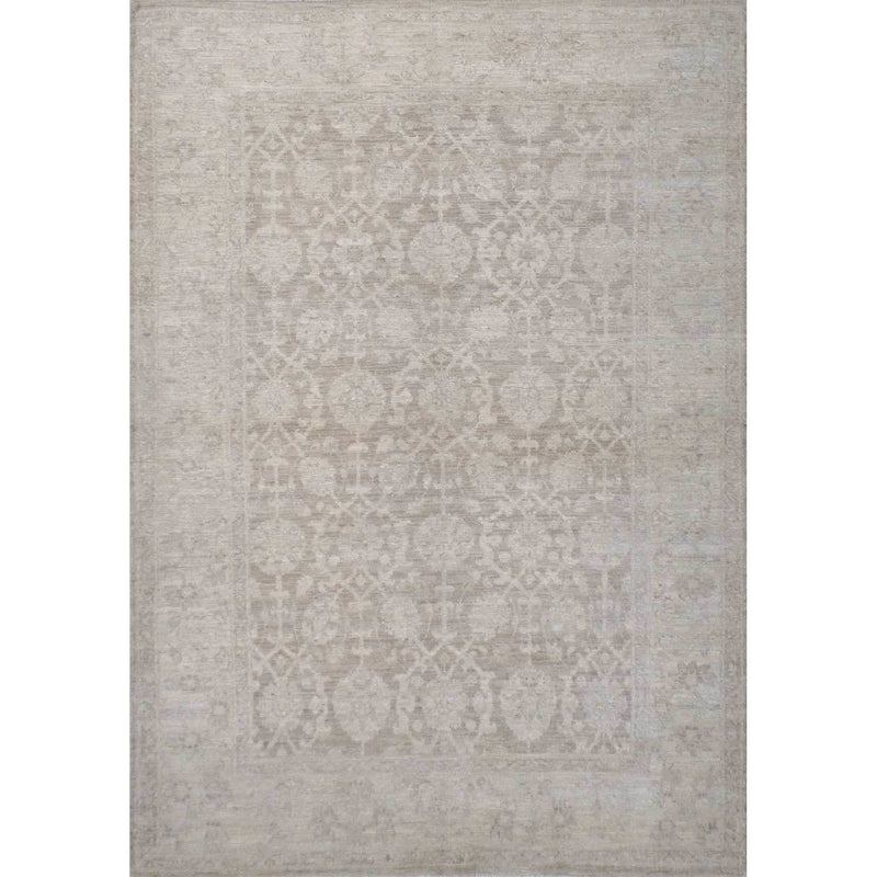34101 SILVER WASH OUSHAK AREA RUG - Roja Rugs
