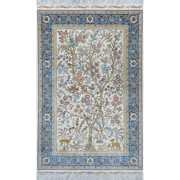 ROYAL SILK AREA RUG - Roja Rugs