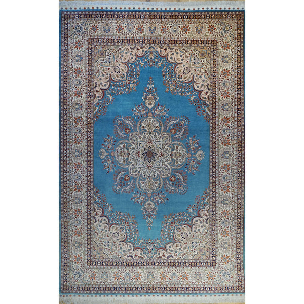 ROJA TURKISH ANATOLIAN ROYAL SILK AREA RUG