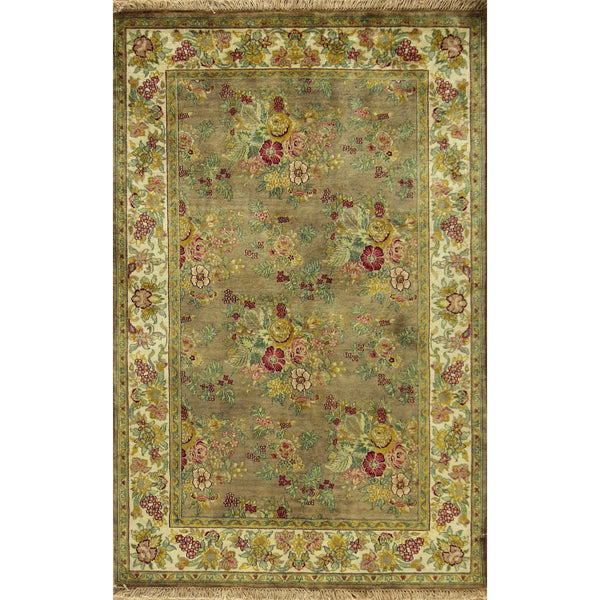 GOL FARANG WOOL TRADITIONAL  RUG 4'1''X6'3''