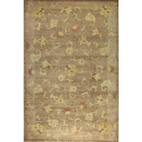ROJA MODERN WOOL CONTEMPORARY RUG 5'6''X8'6''
