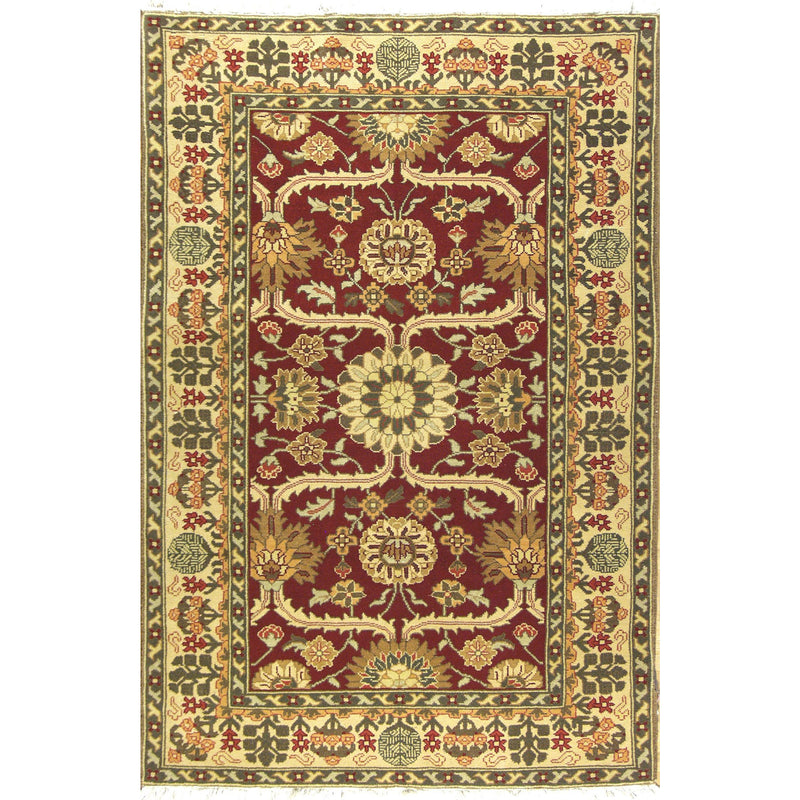 SOULTANABAD WOOL TRADITIONAL RUG 4'X6'2''