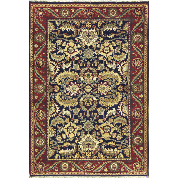 MAHAL WOOL TRADITIONAL RUG 4'X6'