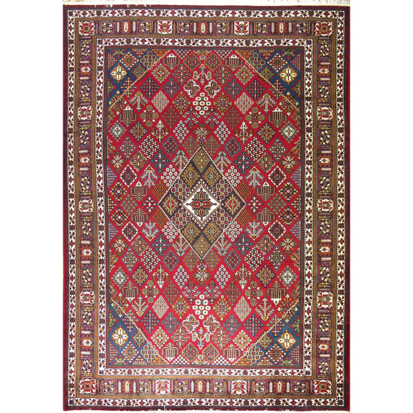 MEYMEH WOOL TRADITIONAL RUG 9'8''X13'