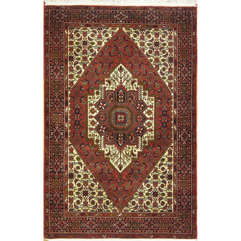 BIJAR WOOL	TRADITIONAL  RUG 3'3''X5'