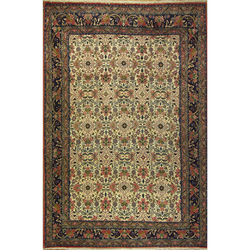 BIDJAR BOUQUET WOOL TRADITIONAL RUG 6'9''X11'