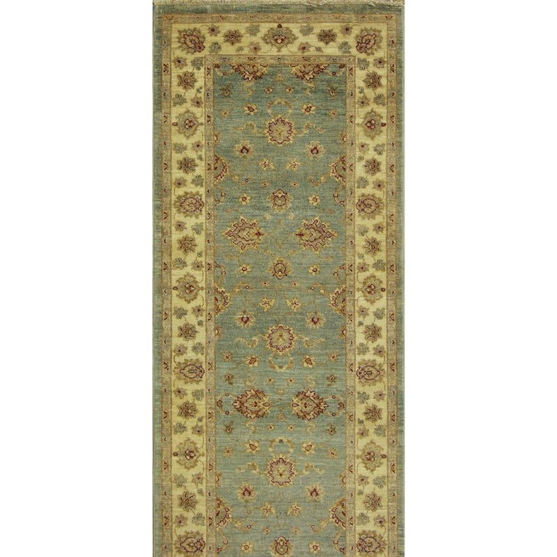65309 OUSHAK WOOL TRADITIONAL RUG 2'7''X16'