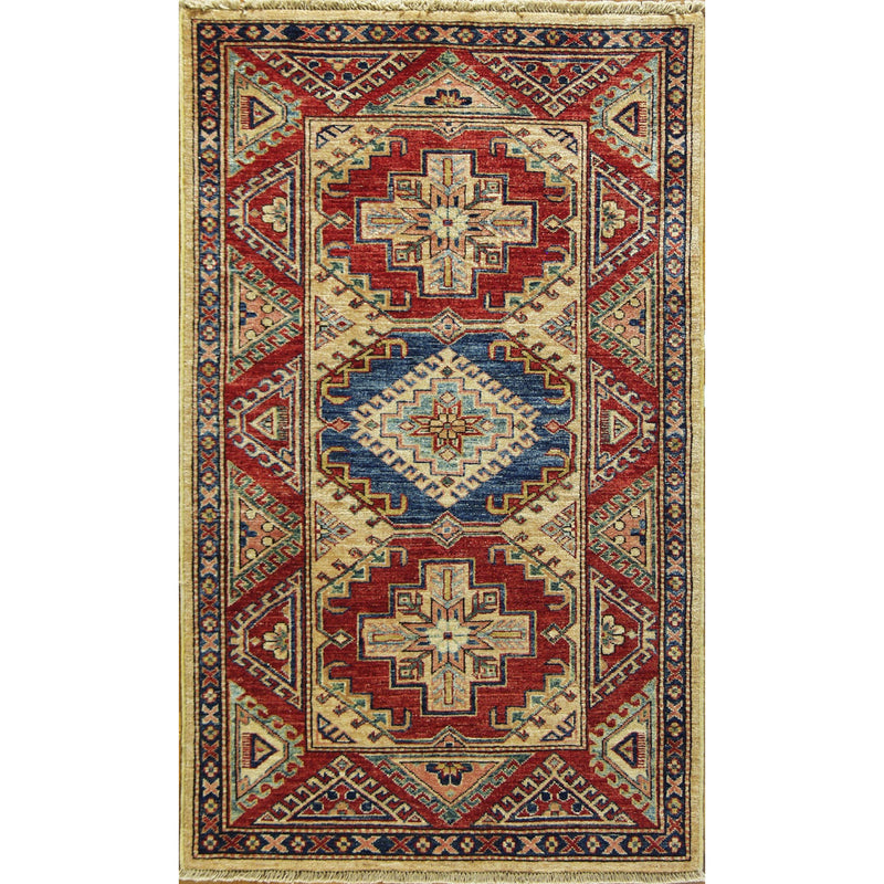 65311 KAZAK WOOL TRADITIONAL RUG - Roja Rugs