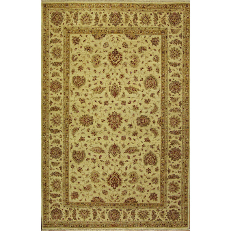65316 OUSHAK WOOL TRADITIONAL RUG 6'X9'