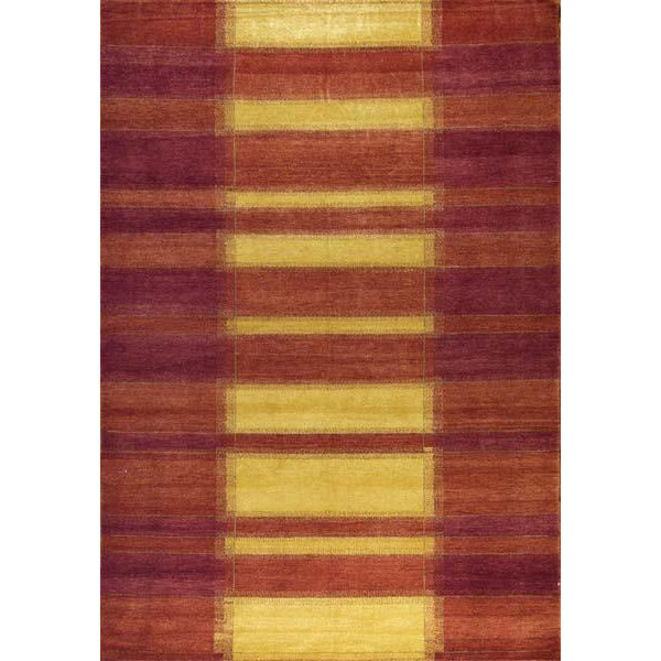 65320 ROJA MODERN WOOL TRADITIONAL RUG 6'X9'