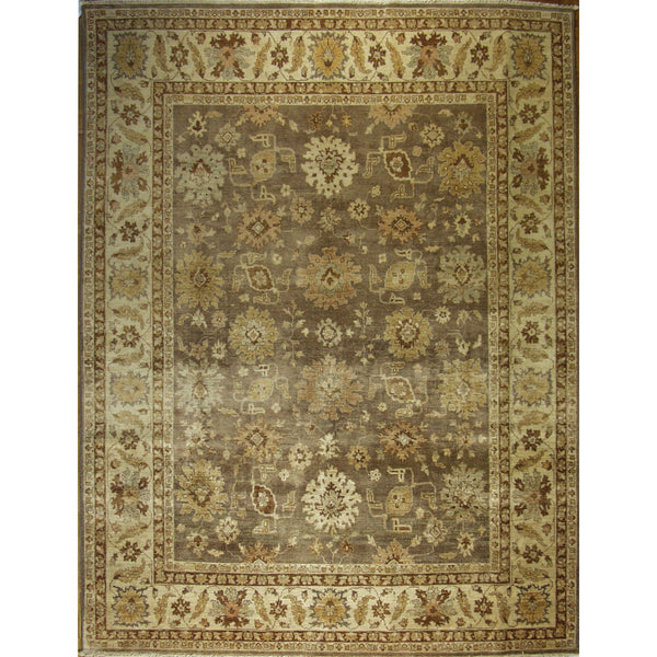 65324 OUSHAK WOOL TRADITIONAL RUG 8'X10'3''