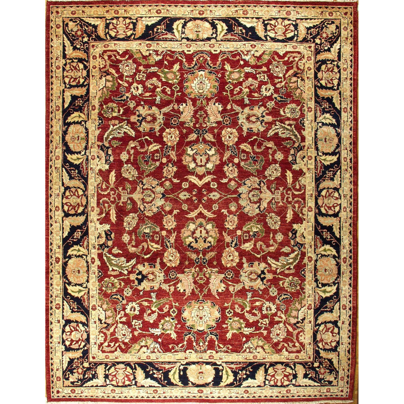 65326 OUSHAK WOOL TRADITIONAL RUG 9'X11'5''
