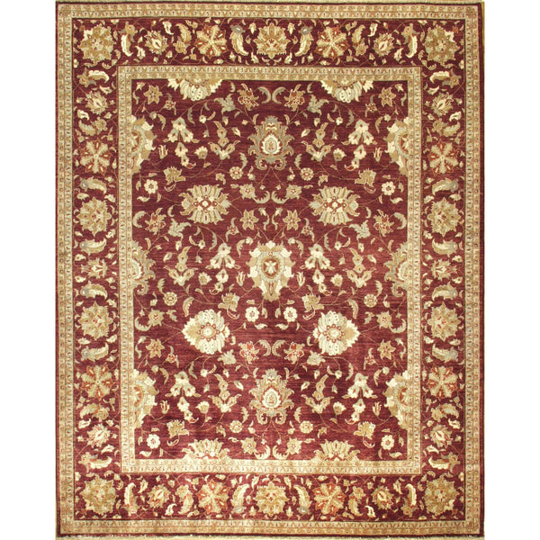 65327 OUSHAK WOOL TRADITIONAL RUG 8'X10'