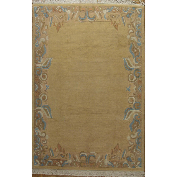 65340 NEPALI WOOL CONTEMPORARY RUG 5'7''X8'2''