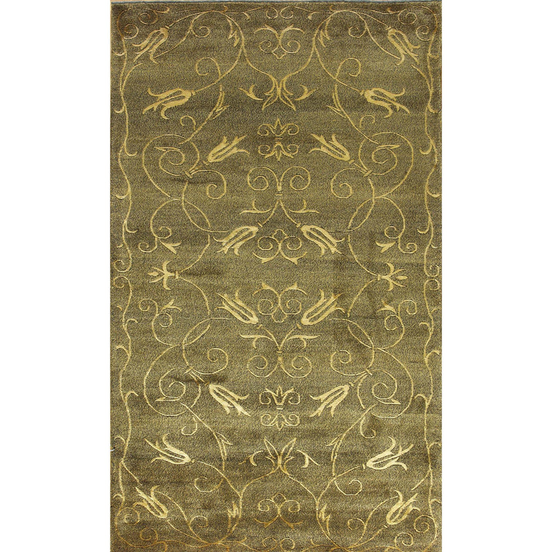 65349 NEPALI MODERN WOOL CONTEMPORARY RUG 3'X5'