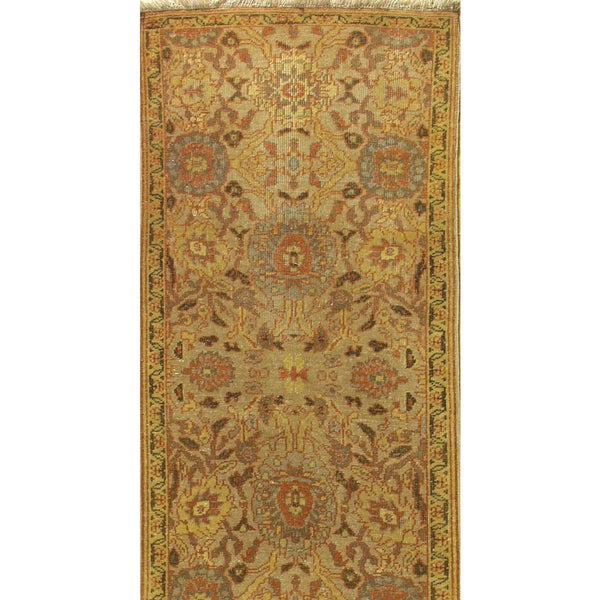 65352 ANTIQUATED OUSHAK WOOL TRADITIONAL RUG 2'7''X12'6''