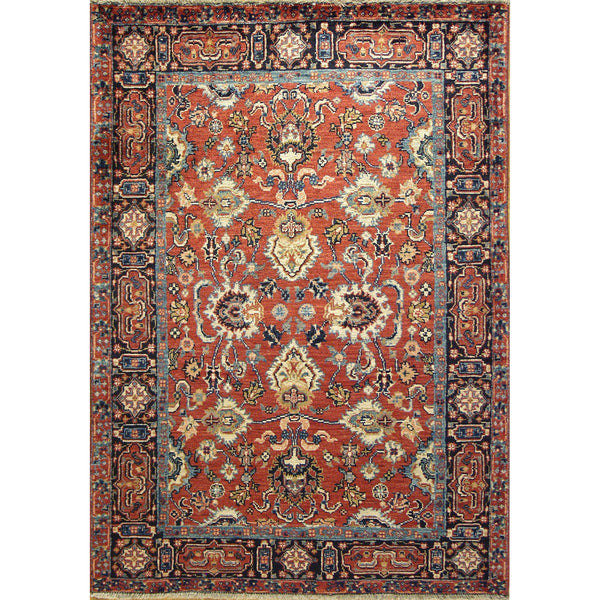 65358 OUSHAK WOOL TRADITIONAL RUG 3'7''X5'