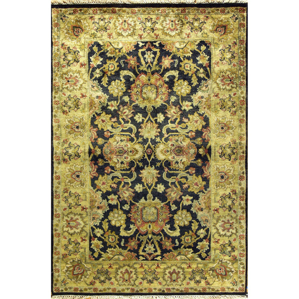 65359 MAHAL WOOL TRADITIONAL RUG 4'X6'
