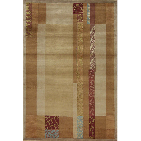 65363 ROJA MODERN WOOL	CONTEMPORARY RUG 4'X6'