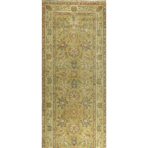 65364 OUSHAK WOOL TRADITIONAL RUG 3'X14'