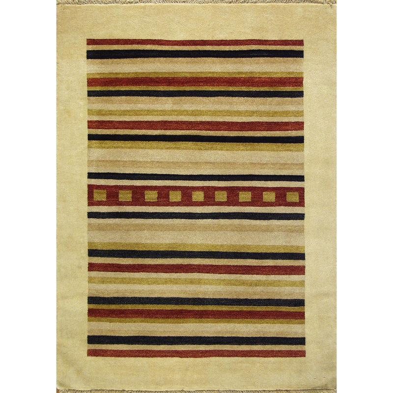65366 ROJA MODERN WOOL CONTEMPORARY RUG 4'3''X6'