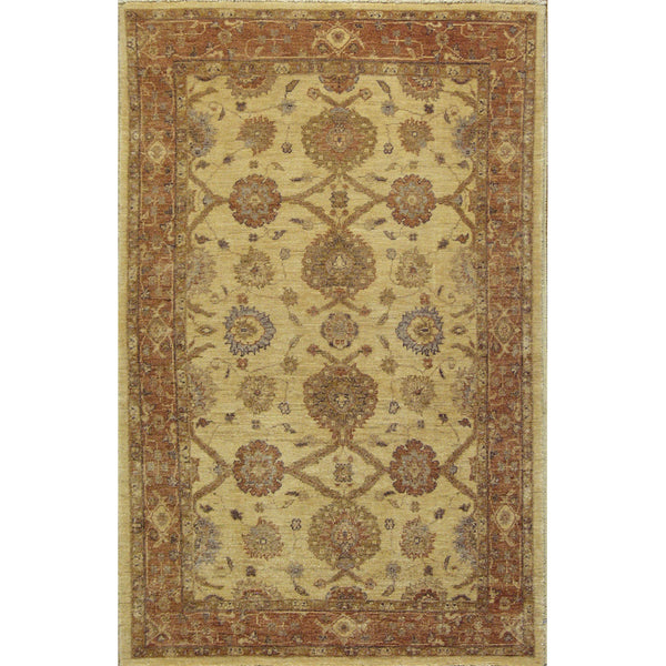 65367 OUSHAK WOOL TRADITIONAL RUG 3'X5'