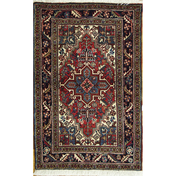 65377 HERIZ WOOL TRADITIONAL RUG 3'X5'