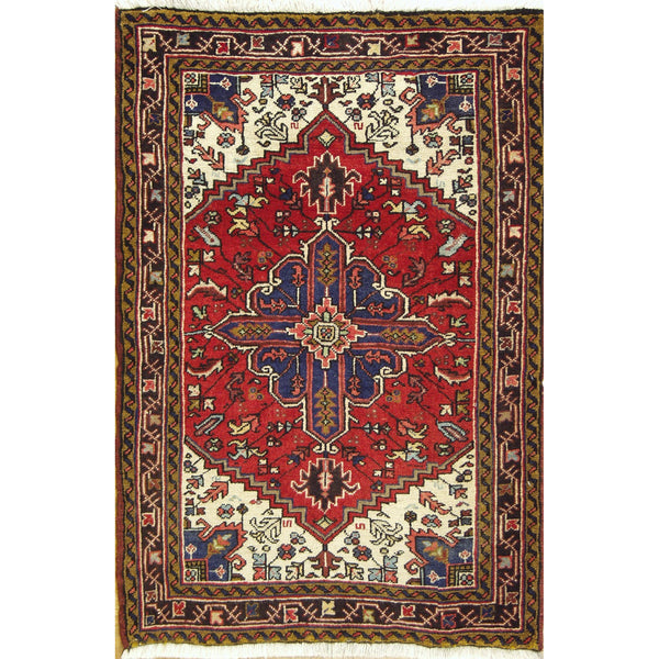 65379 HERIZ WOOL TRADITIONAL RUG 3'X5'