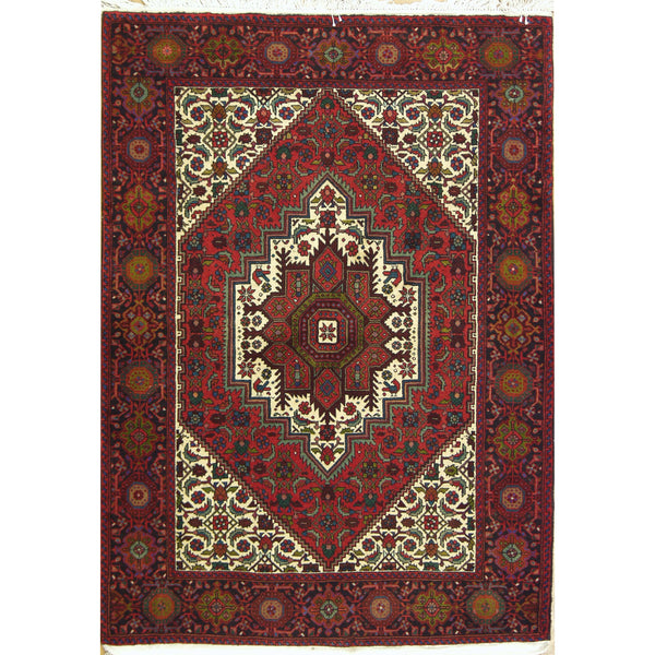 65380 BIJAR WOOL TRADITIONAL RUG 3'4''X4'6''