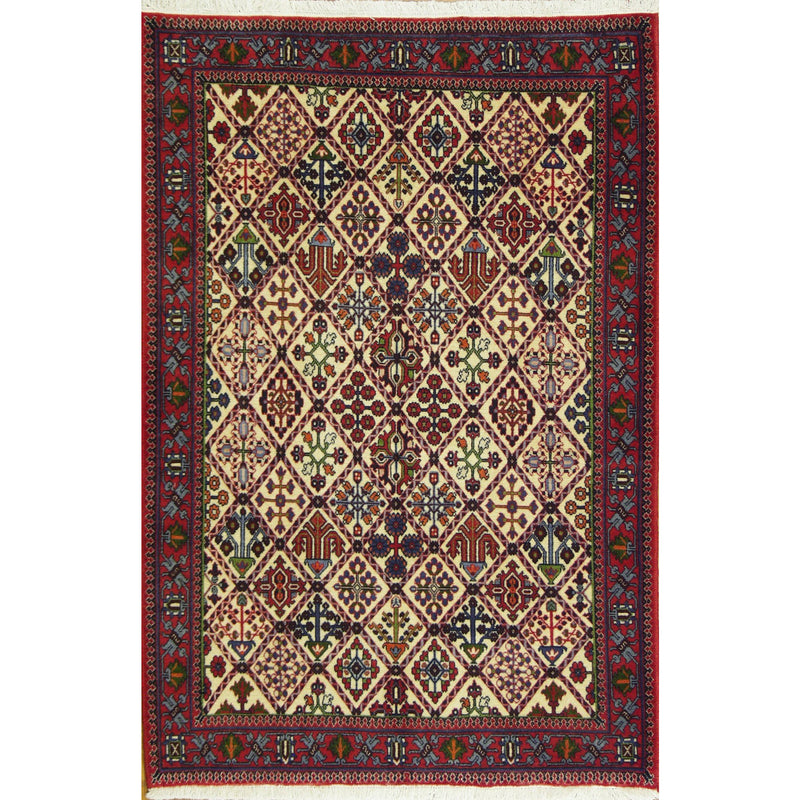 65389 MAYMEH WOOL TRADITIONAL RUG 3'7''X5'5''