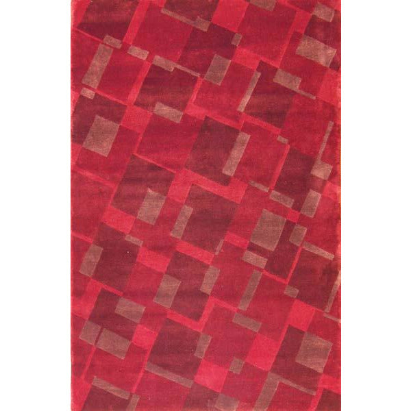 65456 ROJA MODERN WOOL CONTEMPORARY RUG 5'X8'