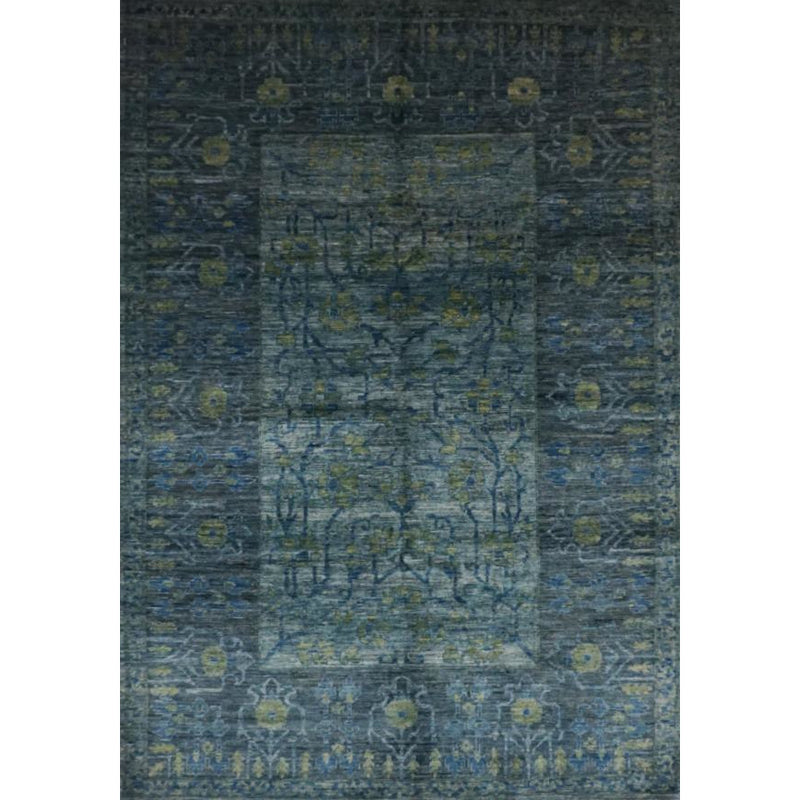 TRIBAL FLORAL AREA RUG