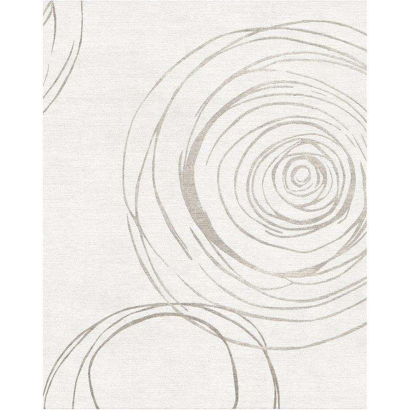 Orbit Ivory Custom Area Rug