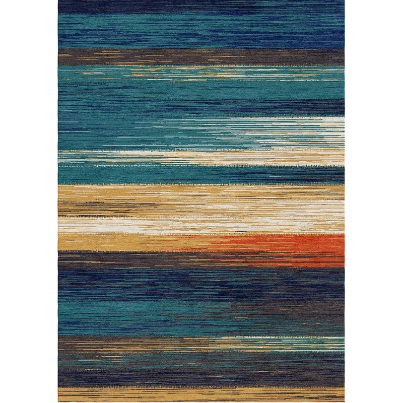 Stripe Abstract Custom Area Rug