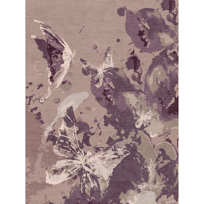 Butterfly Magic Custom Area Rug
